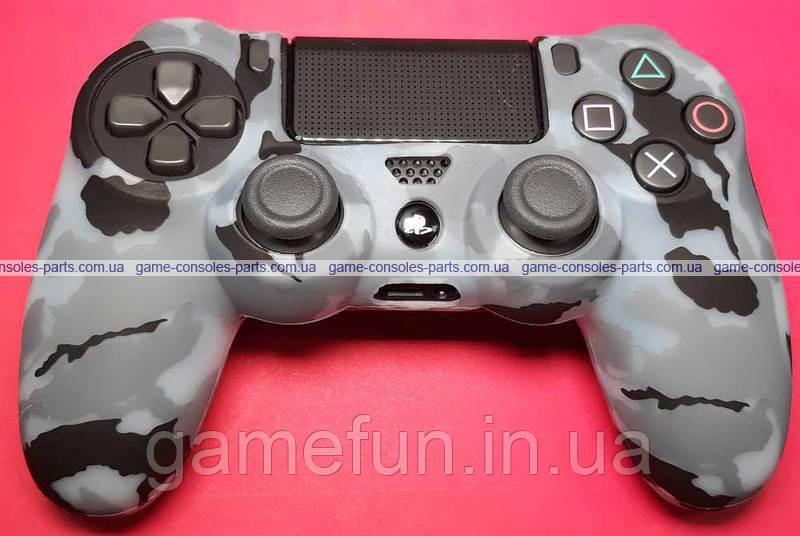 PS4 силіконовий чохол для джойстик Dualshock 4 (Преміум) (Тип-4)