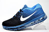 Мужские кроссовки Nike Flyknit Air Max 2018, Чёрный\Бирюза