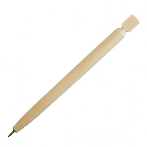 Дерев'яна кулькова ручка