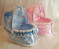 Колясочки 3D для свадебного конкурса мальчик/девочка