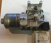 Мотор (электродвигатель , моторчик) переднего стеклоочистителя в сборе (без трапеции) Bosch 1273083 93179149