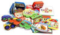 Книжки и игры для малышей от 1-3 лет