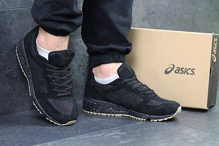 Мужские кроссовки Asics Gel-Lique замшевые,черные 44р  продажа, цена ... 0e60f5004e9