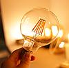 Лампа Эдисона светодиодная 6Вт G125-6S6W шар