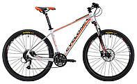 """Горный велосипед Cyclone 27,5"""" LLX-650b 15,5"""" (бело-оранж-мат)"""