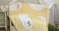 Бортики в детскую кроватку Солнышко