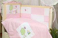 Защитный бампер в кроватку для новорожденных Игрушка