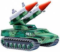 Сборная игровая модель из картона Умная бумага Зенитно-ракетный комплекс (061)