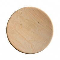 Деревянная тарелка 25 см   заготовка под роспись  для декупажа и декора