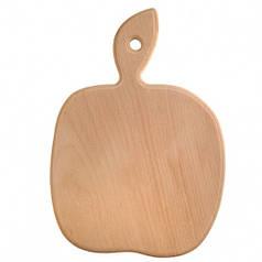 Доска разделочная деревянная Яблоко| кухонная | заготовка для декупажа |под покраску| для росписи | 32х22 см