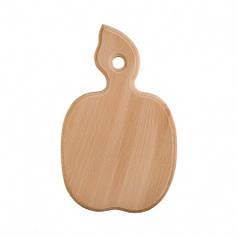 Доска разделочная деревянная Яблоко| кухонная | заготовка для декупажа |под покраску| для росписи | 23х15 см