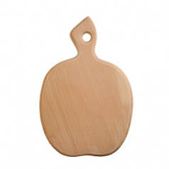 Дошка обробна дерев'яна Яблуко| кухонна | заготівля для декупажу |під фарбування| для розпису | 25х19 см