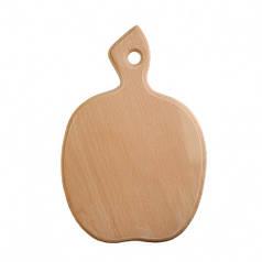 Доска разделочная деревянная Яблоко| кухонная | заготовка для декупажа |под покраску| для росписи | 25х19 см