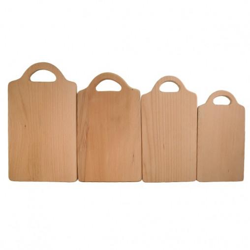 Доска разделочная деревянная прямоугольная  | заготовка для декупажа |под покраску| для росписи | 38х22 см