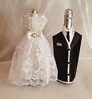 Украшение для шампанского Жених-невеста Элит