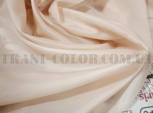 Подкладочная ткань нейлоновая персиковая (Европа), фото 2
