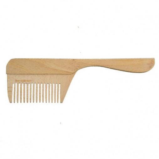 Дерев'яний гребінь для волосся   заготівля для декору   під фарбування   гребінець для декупажу 20 см