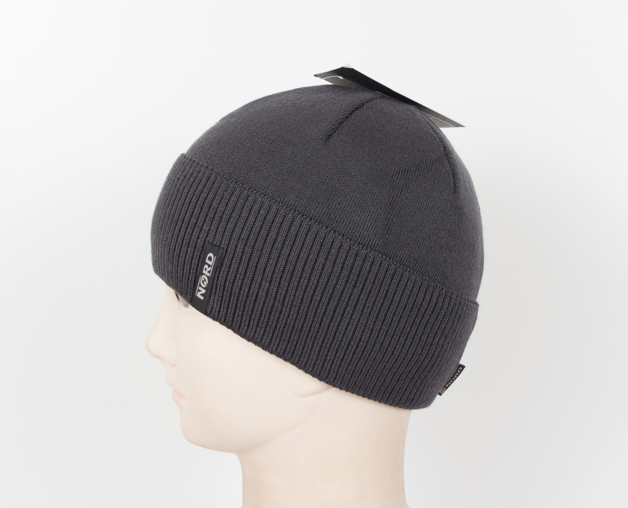 В'язана шапка Nord на флісі