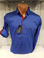 Рубашки мужские оптом Турция (S-2XL), стретч