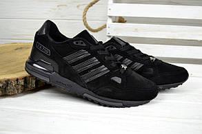 Кроссовки мужские Adidas ZX 750 черные 2530