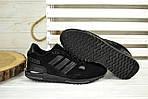 Кроссовки мужские Adidas ZX 750 черные 2530, фото 2