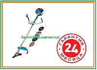 Мотокоса бензиновая GRAND 5200 ( 5200 Вт ) 3 ножа + 2 головки