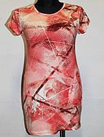 Платье из вискона с карманами