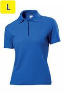 Polo женское ST3100 с коротким рукавом 170 g/m², темно-синий