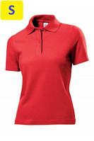 Polo женское ST3100 с коротким рукавом 170 g/m², красный