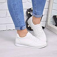 Кроссовки женские под Reebok белые 4226, спортивная обувь
