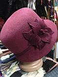 Фетровая зимняя шляпа, фото 6