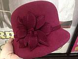 Фетровая зимняя шляпа, фото 7