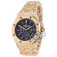 Часы Audemars Piguet Royal Oak Chronograph Gold-Blue