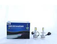 Светодиодные лампы UKC c цоколем H4 33W/3000LM 4500-5000K, Лампы для автомобиля, Автомобильные лампы  H4