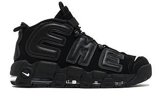 Мужские | Женские Кроссовки Supreme x Nike Air More Uptempo Black