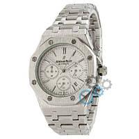Часы Audemars Piguet Royal Oak Chronograph Silver-White