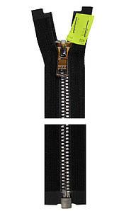 Молния YKK Metaluxe®  70 см * черная Silver