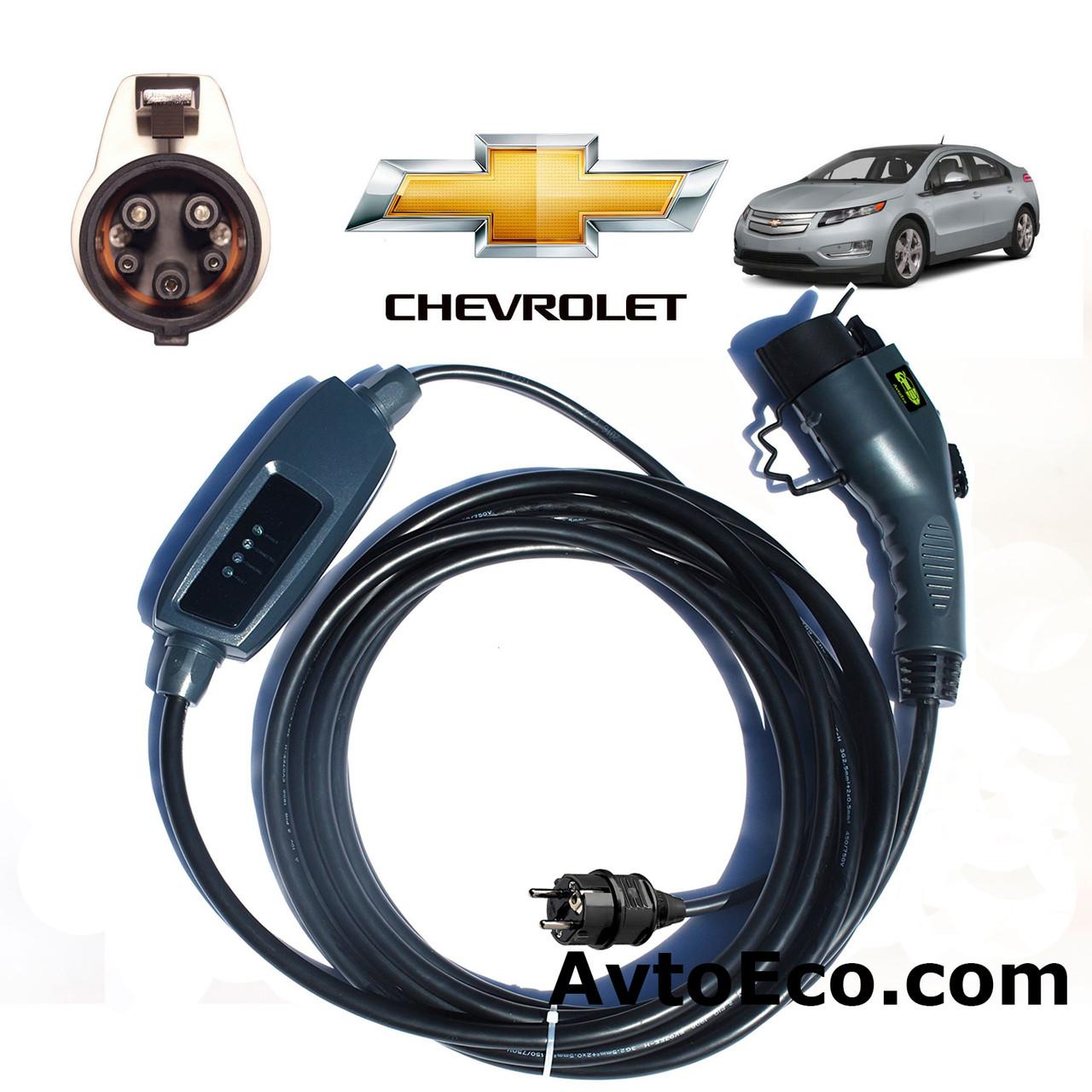Зарядное устройство для электромобиля Chevrolet Volt Duosida J1772-16A