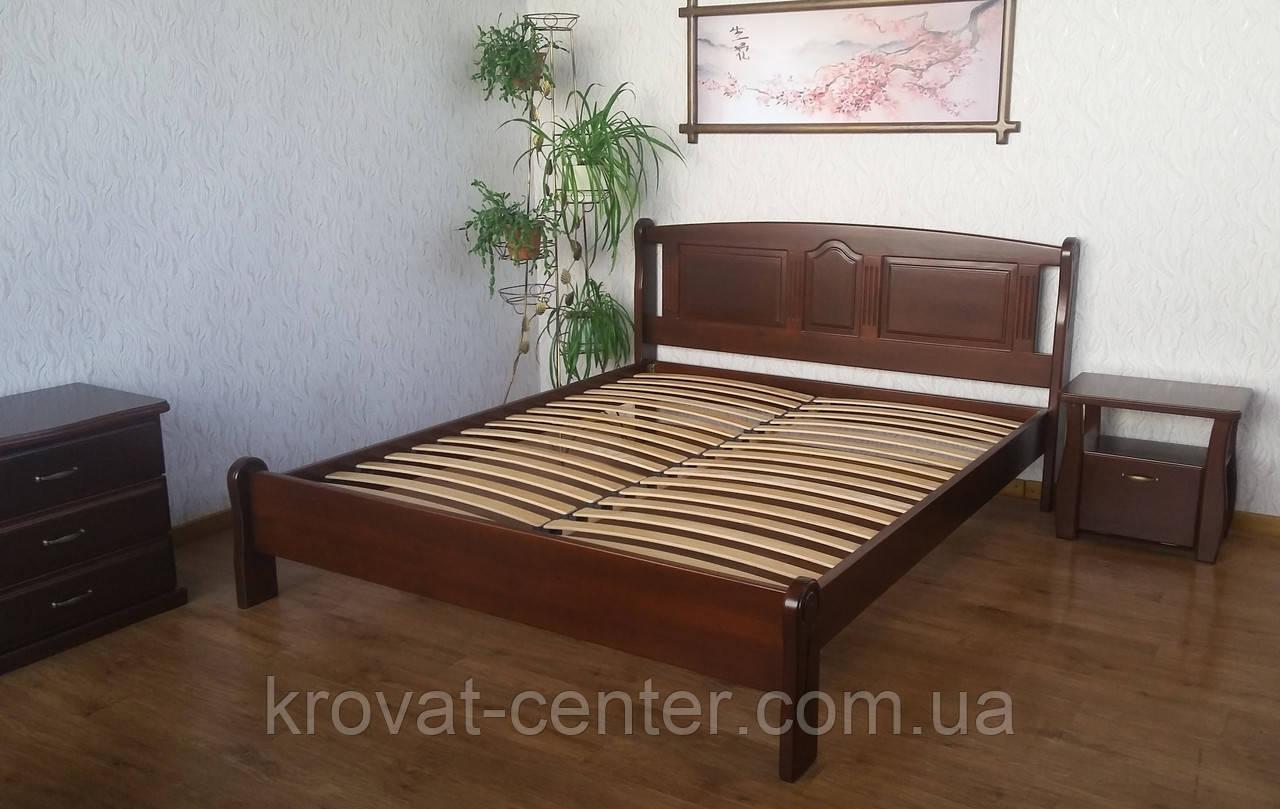 """Спальный гарнитур из дерева от производителя """"Афина"""" (кровать с тумбочками)"""