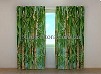 "Фото штора ""Бамбуковый лес"" 250 х 260 см"