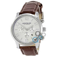Часы Montblanc TimeWalker Mechanic Brown-Silver
