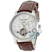 Часы Montblanc TimeWalker Tourbillon Brown-Silver