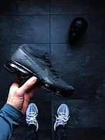 Nike Air Vapormax Flyknit (Black / Anthracite - Dark Grey) 44