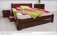 """Кровать деревянная """"Айрис без изножья"""" 1,4, фото 3"""