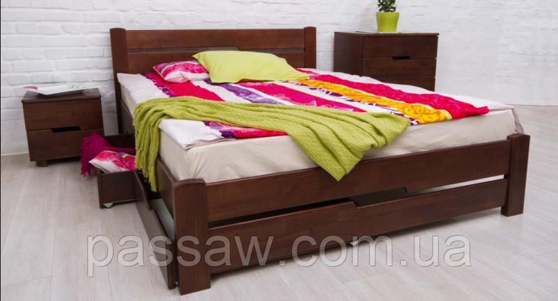 """Кровать деревянная """"Айрис без изножья"""" 1,4"""