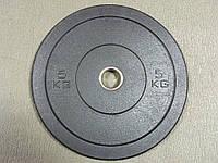 Блины для штанги бамперные 5 кг., фото 1
