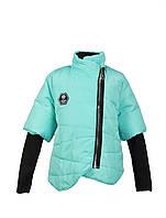 Куртка для девочки  587 весна-осень, размеры на рост от 122 до 140 возраст от 6 до 10 лет