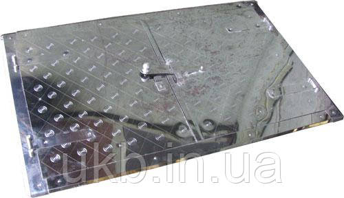 Дверца к печи (Нержавейка) 760*480 мм