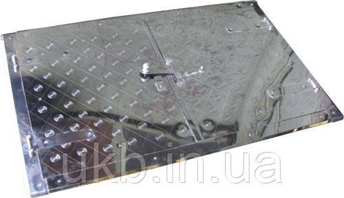 Дверцята до печі (Нержавійка) 760*480 мм