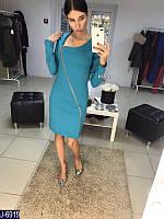 Женское платье с молнией, фото 1